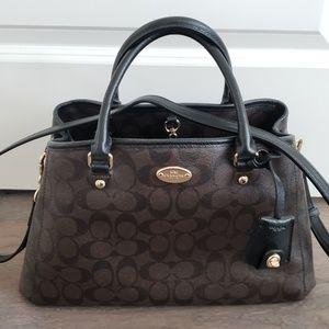 Authentic Coach Shoulder Handbag
